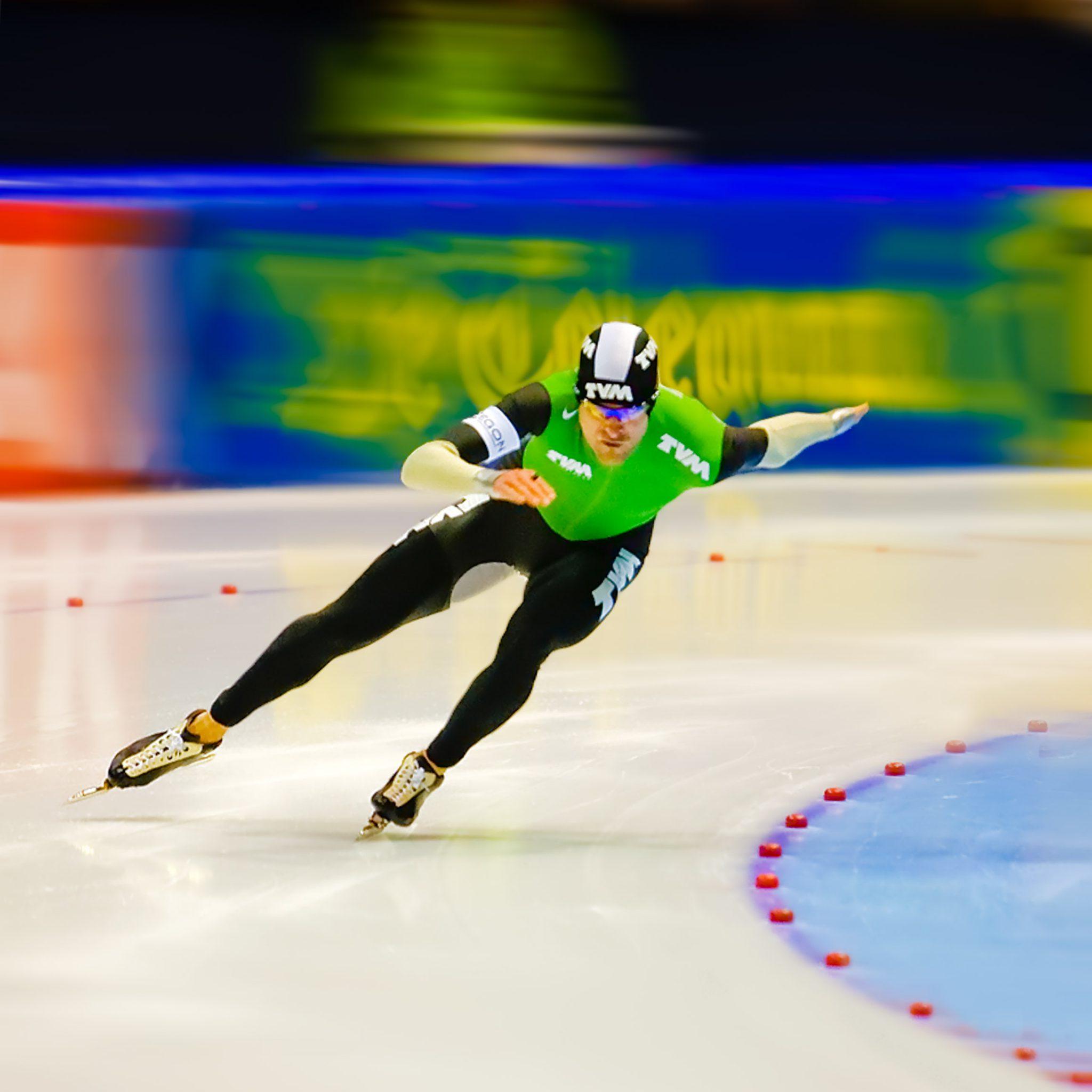 Sport Erben Wennemars schaatsen Jenne Klasens