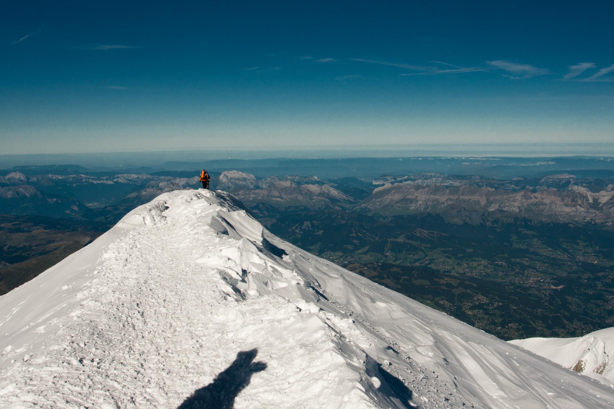 Mont Blanc Alpen Jenne Klasens