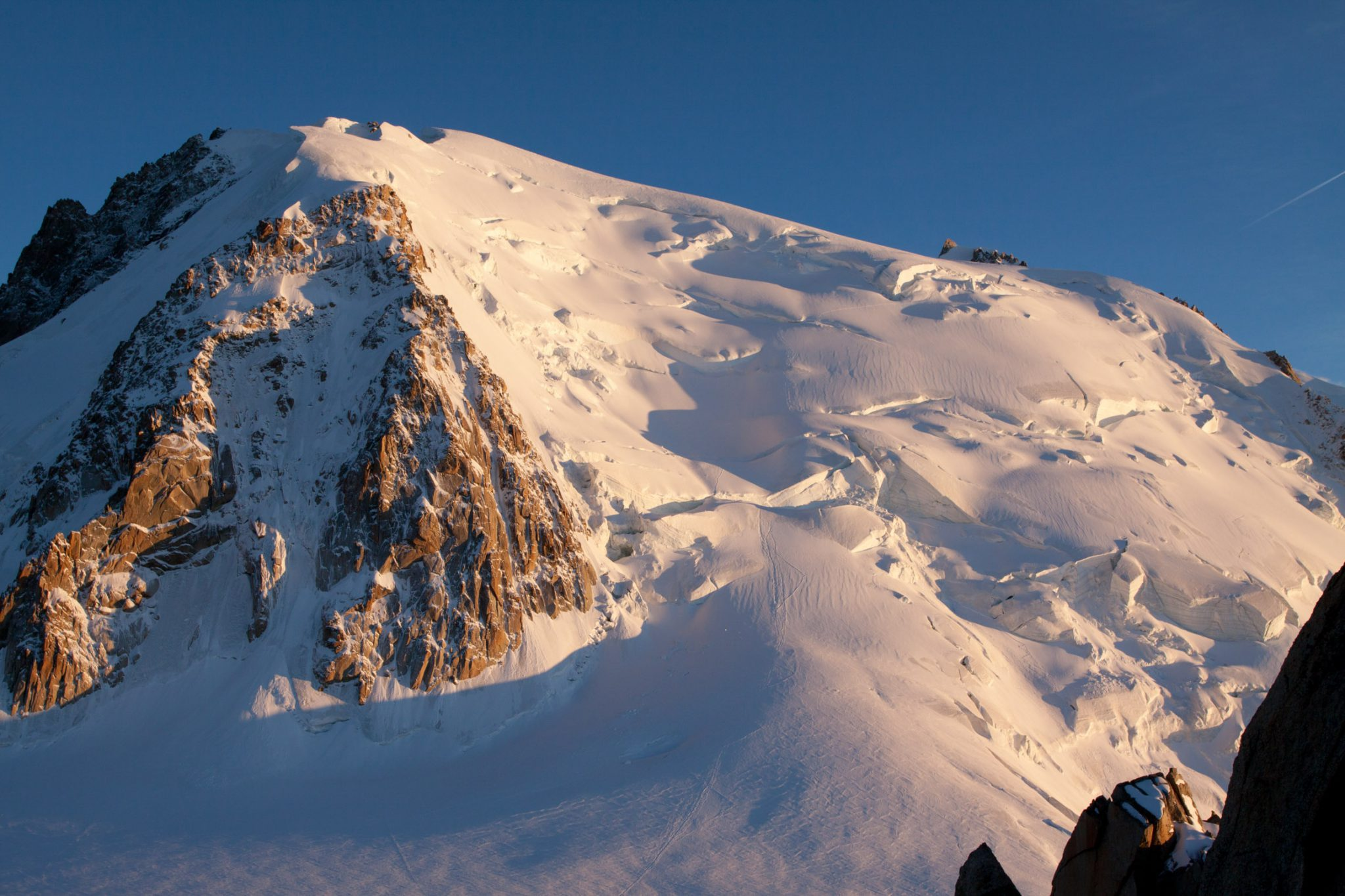 Mont Blanc Alpen Chamonix Cosmiques Refuge (3613M)  Jenne Klasens
