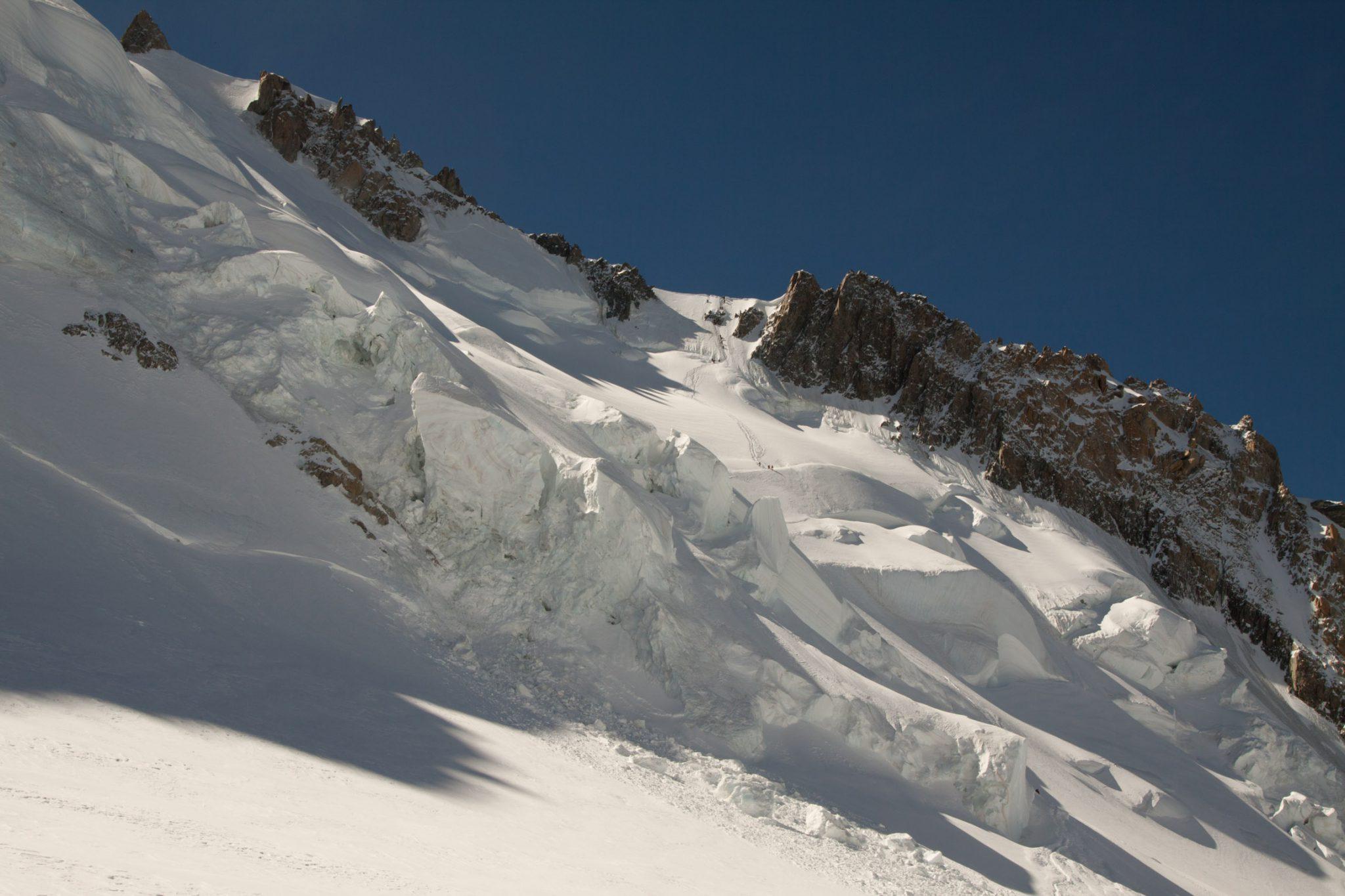 Mont Blanc Alpen Chamonix  Jenne Klasens Gletsjer