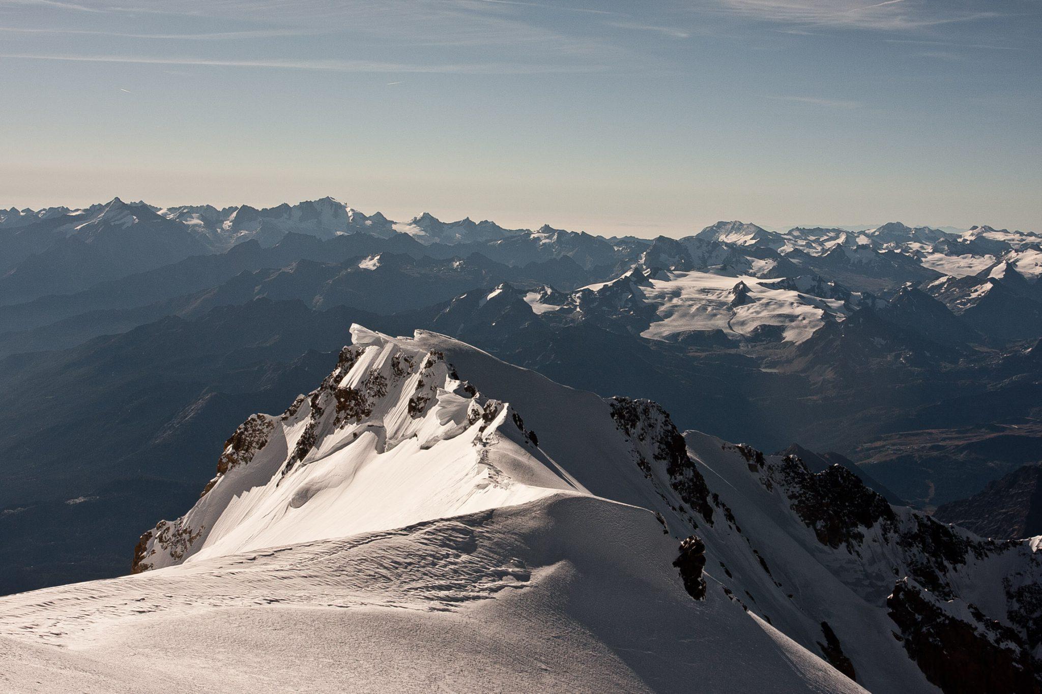 Mont Blanc Alpen Chamonix  Jenne Klasens De Top